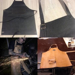 #nohipstershit #apron for sale!! Start at € 80 for a flat apron #millerapron #MillerKustom #millerkustomupholstery #toworkwith #kustom #kustomkulture #kustomkultureforever #zutphen #zweedsestraat #welding #grinding