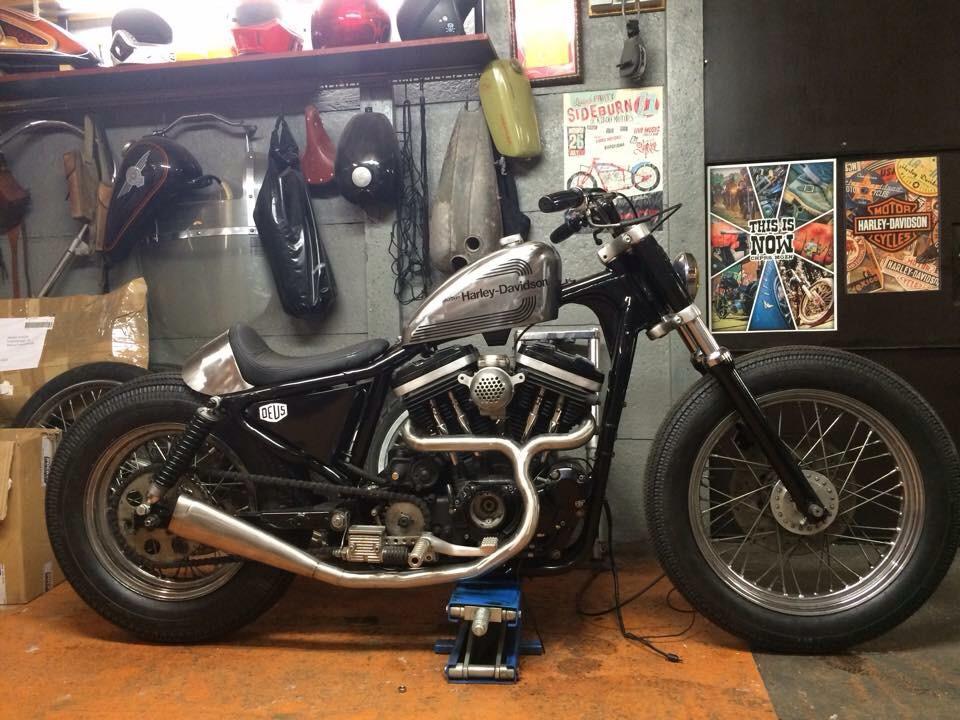 Bikeseat Bobber Bratstyle Caferacer Chopper Chopperseat Chopperzadel Handmade Harley Sportster Kustom Pannetje Tucknroll Upholstery Zutphen